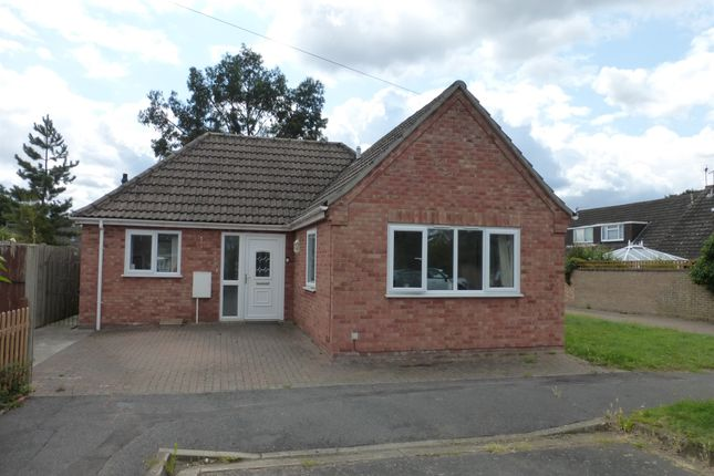 Thumbnail Detached bungalow for sale in Addington Way, Werrington, Peterborough