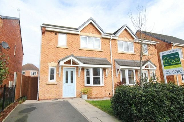 Thumbnail Semi-detached house for sale in Southampton Drive, Cressington Heath, Liverpool