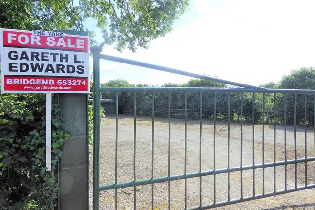 Thumbnail Land for sale in 5 Smallholdings, Coity, Bridgend.