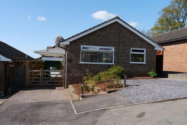Thumbnail Detached bungalow for sale in Pencraig View, Greytree, Ross-On-Wye