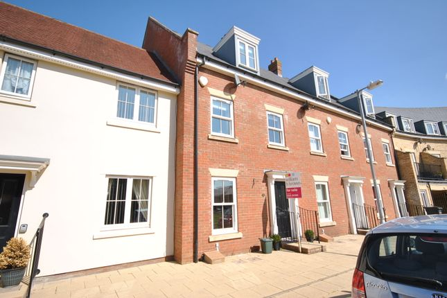 Thumbnail Town house for sale in Britten Crescent, Witham