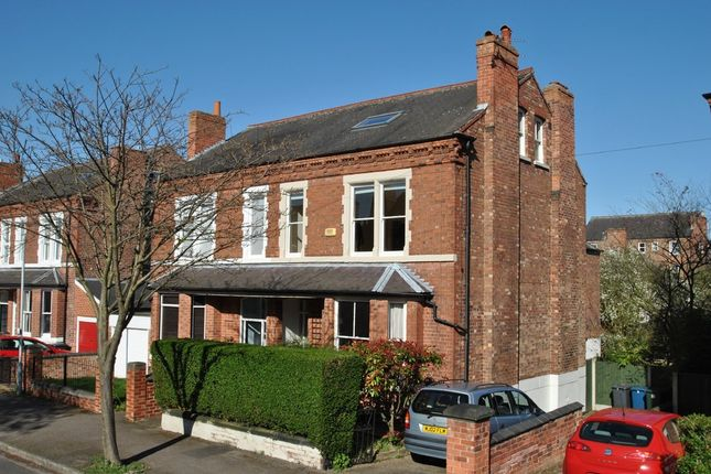 Thumbnail Semi-detached house for sale in Henry Road, West Bridgford