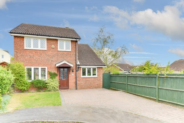 Thumbnail Detached house for sale in Foxglove Bank, Royston
