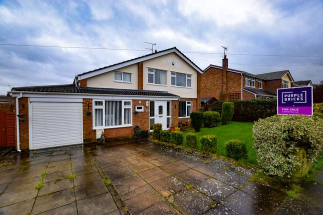 Thumbnail Detached house for sale in Raby Drive, Raby Mere, Wirral