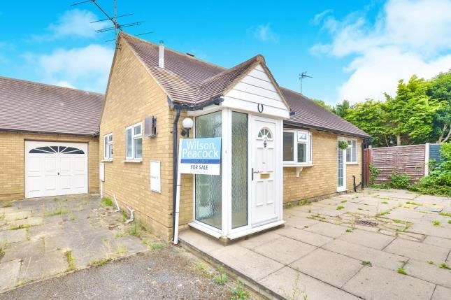 Thumbnail Bungalow for sale in Knoll Close, Sherington, Newport Pagnell, Buckinghamshire