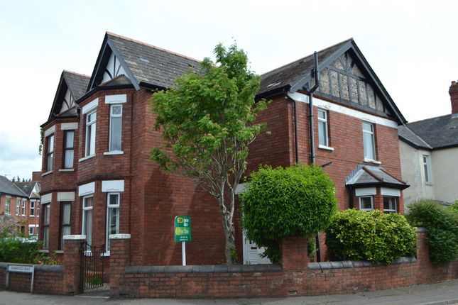 Thumbnail Semi-detached house for sale in Evansfield Road, Llandaff North, Cardiff