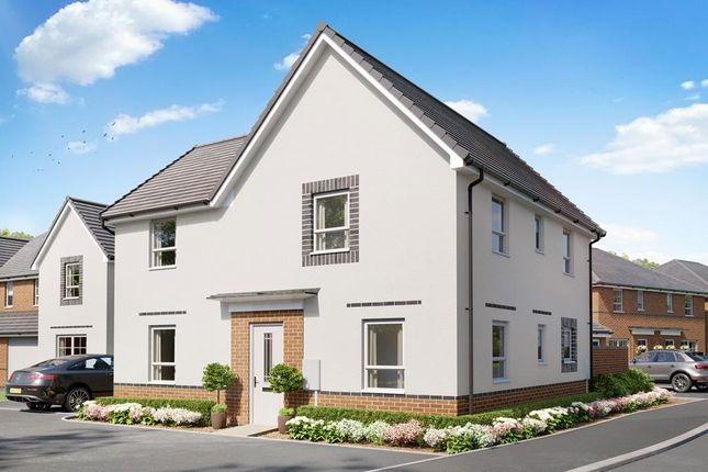 "Thumbnail Detached house for sale in ""Alderney"" at Birdhaven Close, Banbury Road, Lighthorne, Warwick"