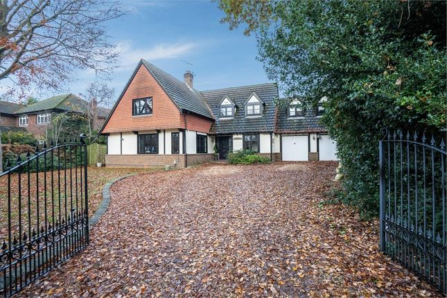 Thumbnail Detached house for sale in Upper Verran Road, Camberley, Surrey