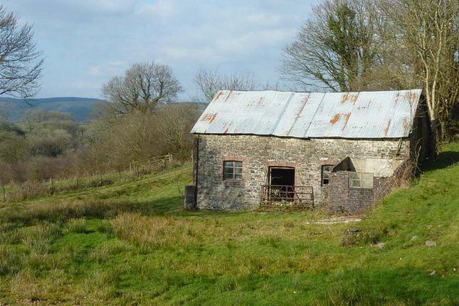 Thumbnail Barn conversion for sale in Abergorlech, Carmarthen