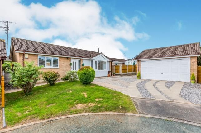 Thumbnail Bungalow for sale in Bewcastle Grove, Meir Park, Stoke, Staffs