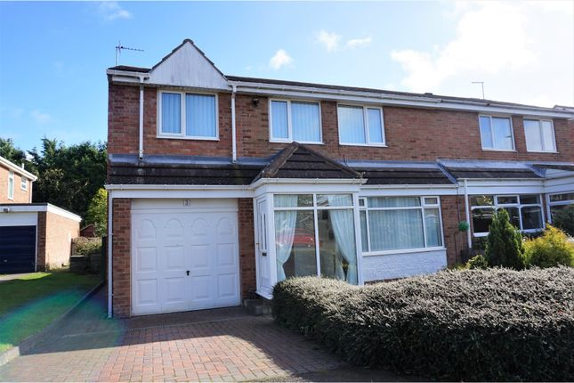 Thumbnail Semi-detached house for sale in Coquet Drive, Morpeth