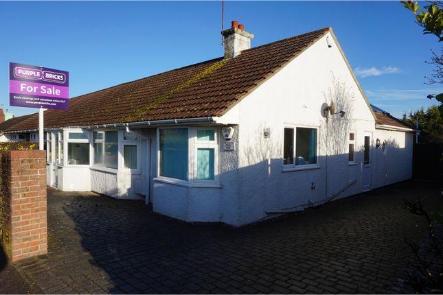 Thumbnail Semi-detached bungalow for sale in Midhurst Road, Lavant