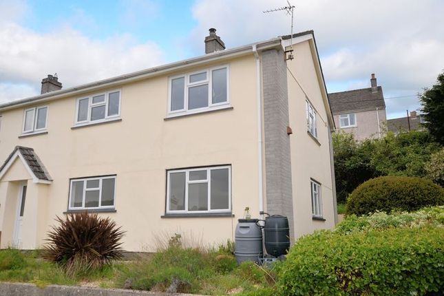 Thumbnail Flat for sale in St. Andrews Close, Calstock