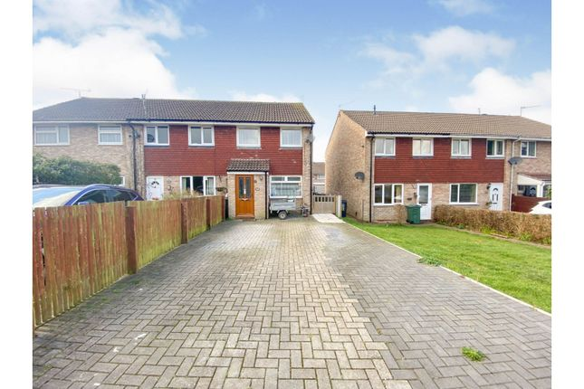 Thumbnail Semi-detached house for sale in Shaftesbury Close, Nailsea