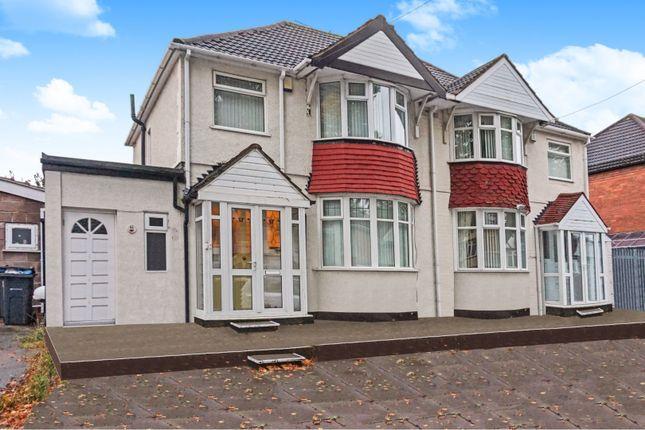 Thumbnail 3 bed semi-detached house for sale in Warren Hill Road, Kingstanding