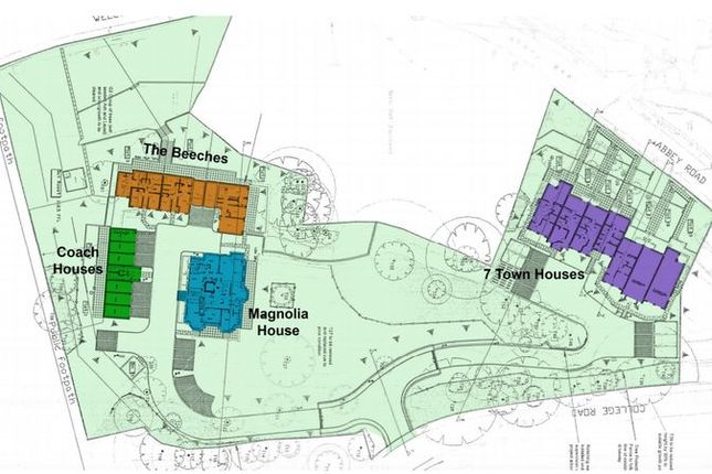 Thumbnail Flat for sale in Magnolia House, Bellemere Gardens, College Road, Malvern