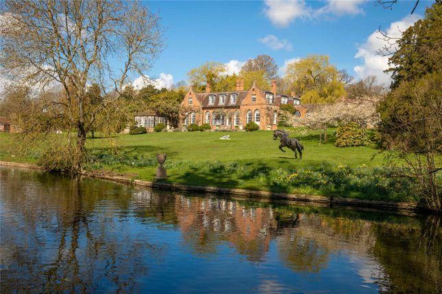 Thumbnail Detached house for sale in Midgham Park, Midgham, Reading