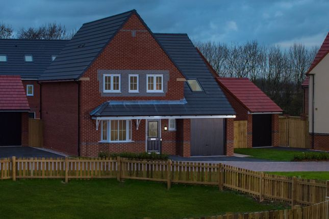 "Thumbnail Detached house for sale in ""Harborough"" at Blackpool Road, Kirkham, Preston"