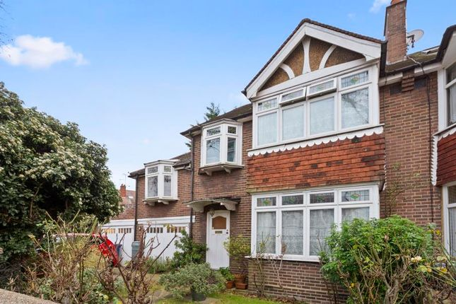 Thumbnail End terrace house for sale in Brunswick Road, London