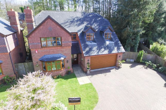 Thumbnail Detached house for sale in West Drive, Cheddleton, Leek