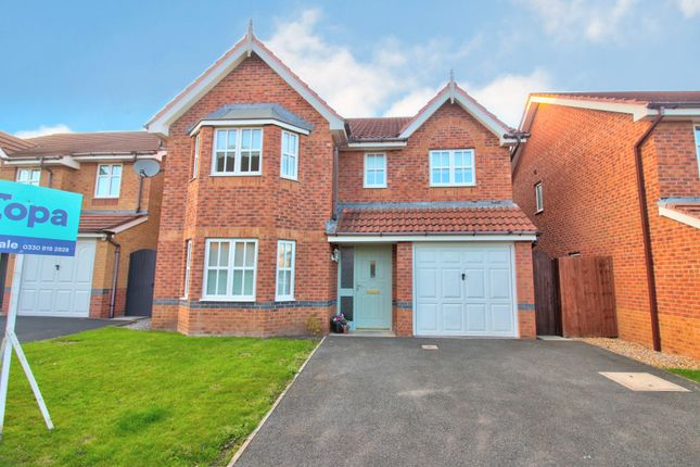 4 bed detached house for sale in Mill Croft, Neston CH64