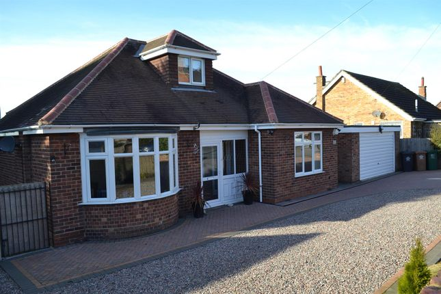 Thumbnail Detached bungalow for sale in Meynell Street, Church Gresley, Swadlincote