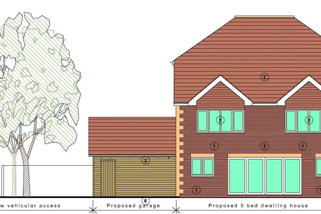 Proposed Rear of Long Copse Lane, Emsworth, Hampshire PO10