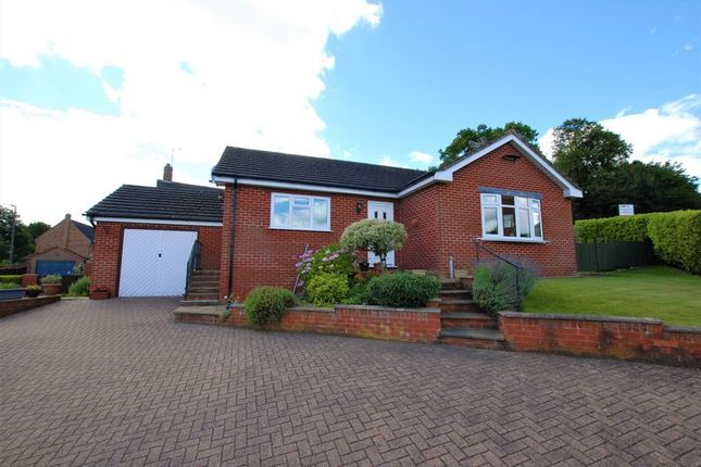 Thumbnail Detached bungalow for sale in The Hollow, Uttoxeter