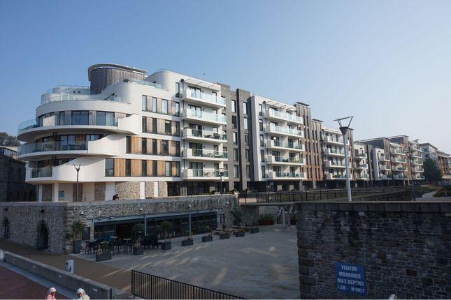 Front View of Millennium Promenade, Bristol BS1