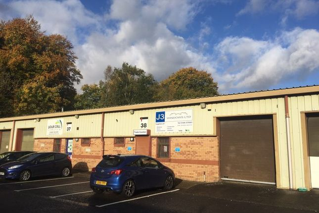 Thumbnail Industrial to let in Unit 38 Aberaman Ind Estate, Aberdare