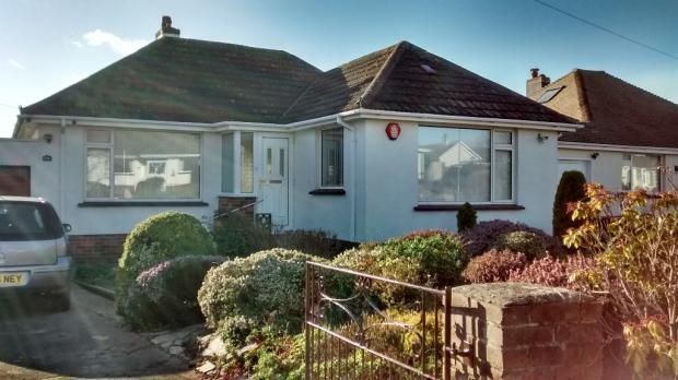 Thumbnail Detached bungalow to rent in Preston Down Road, Paignton