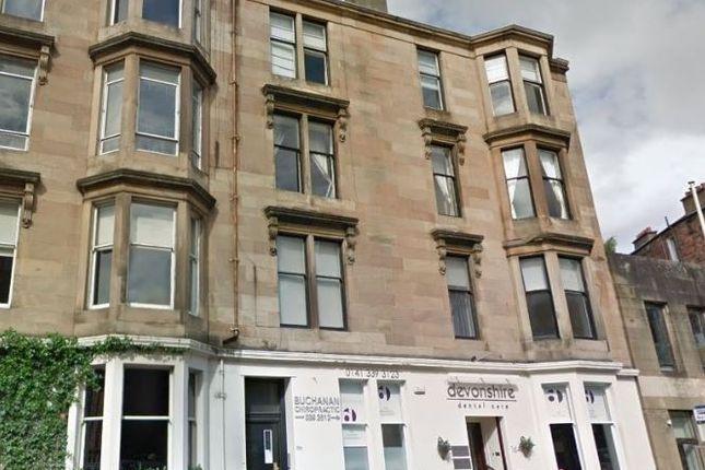 Thumbnail Flat to rent in Hyndland Road, Hyndland, Glasgow