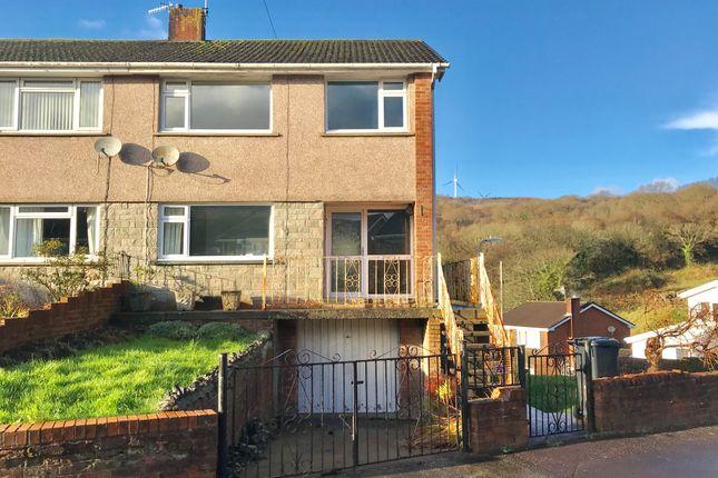 Thumbnail Semi-detached house for sale in Brynhyfryd, Glynneath, Neath