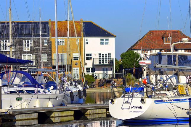 Terraced house for sale in St. Lawrence Way, Sovereign Harbour North, Eastbourne