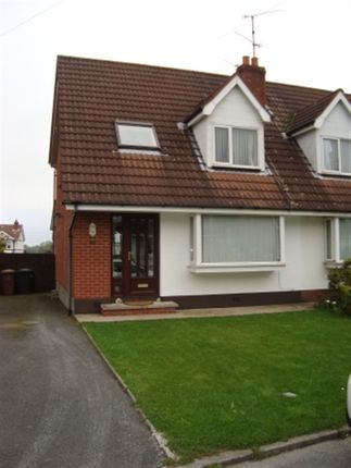 Thumbnail Semi-detached house to rent in Winchester Avenue, Carryduff, Belfast