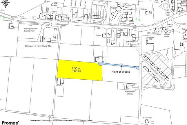 Site Plan of Shortlake Lane, Osmington, Weymouth, Dorset DT3