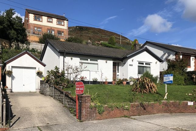 Thumbnail Detached bungalow for sale in Blackmill Road, Lewistown, Bridgend, Bridgend County.