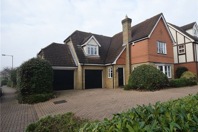 Thumbnail Detached house for sale in Drovers Way, Bishop's Stortford
