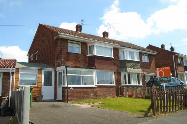 Thumbnail Semi-detached house for sale in Whitemere Road, Mount Pleasant, Shrewsbury