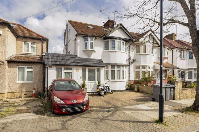 Thumbnail Semi-detached house for sale in Sherrick Green Road, London