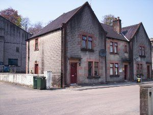 Thumbnail End terrace house to rent in Dullanbank, Dufftown, Aberlour, Keith