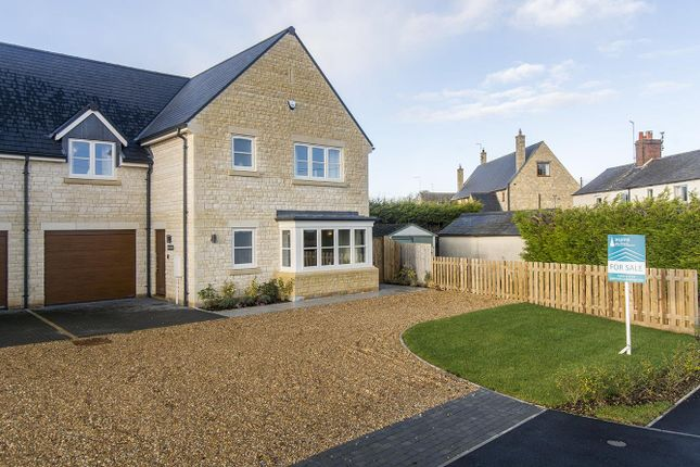 Thumbnail Link-detached house for sale in Birchwood, Southwick Road, Glapthorn, Peterborough