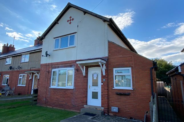 Thumbnail End terrace house for sale in St. Hildas Street, Sherburn, Malton