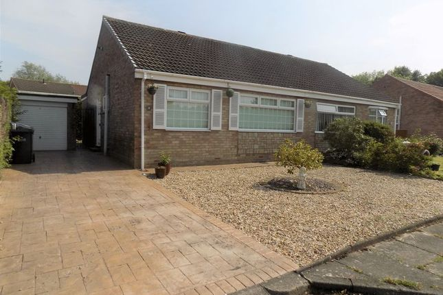 Thumbnail Semi-detached bungalow to rent in Yoden Court, Newton Aycliffe