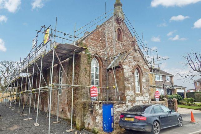 Detached house for sale in Methodist Chapel, Cumwhinton, Cumwhinton, Cumbria CA4