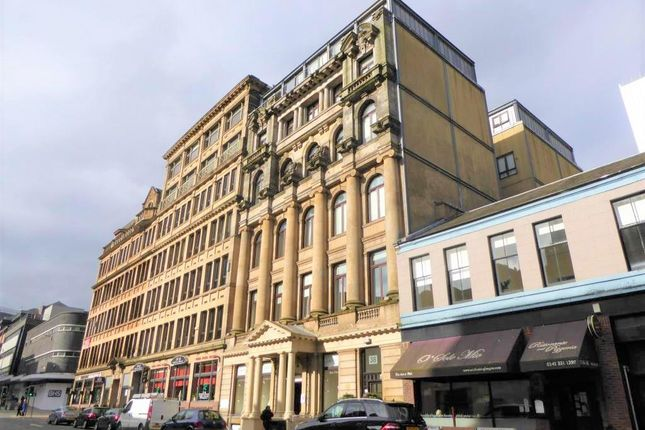 Thumbnail Flat to rent in 38A Bath Street, Glasgow