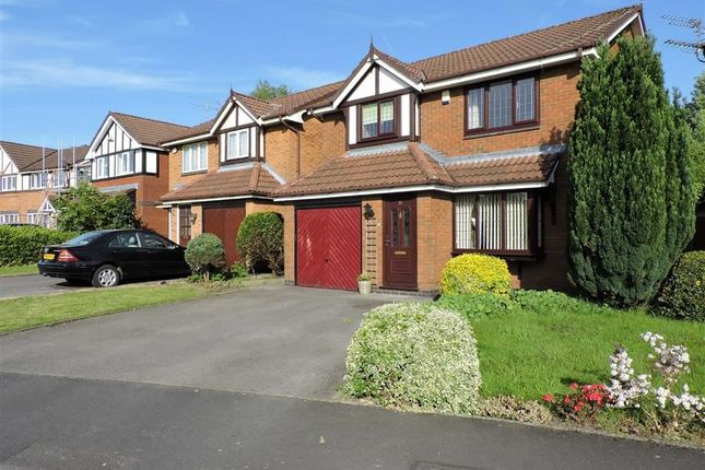 Thumbnail Detached house for sale in Tytherington Drive, Levenshulme, Manchester