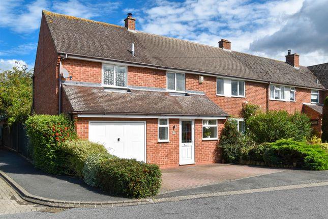 Thumbnail Semi-detached house for sale in Frances Road, Harbury, Leamington Spa