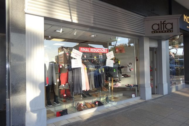 Retail premises to let in Westover Road, Bournemouth