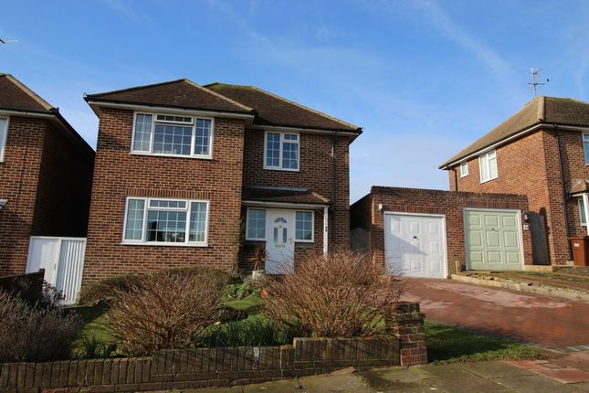Thumbnail Detached house for sale in Meadowlands Avenue, Eastbourne